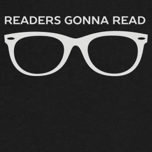 Readers Are Gonna Read - Men's V-Neck T-Shirt by Canvas