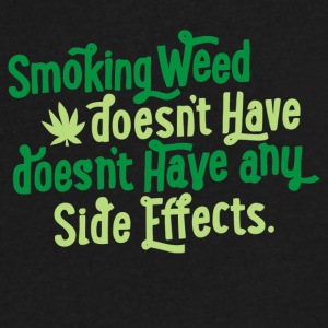 Smoking Weed - Men's V-Neck T-Shirt by Canvas
