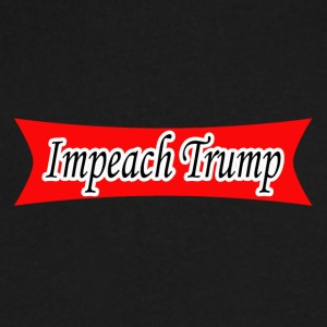 Impeach Trump - Men's V-Neck T-Shirt by Canvas