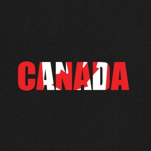 country Canada - Men's V-Neck T-Shirt by Canvas