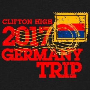 Clifton High 2017 Germany Trip - Men's V-Neck T-Shirt by Canvas