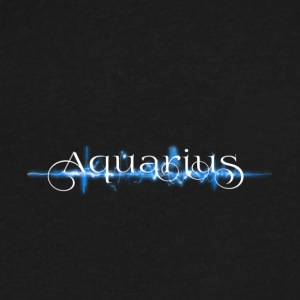 Aquarius - Men's V-Neck T-Shirt by Canvas