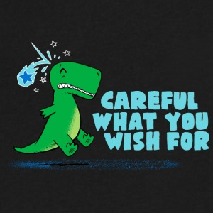 Careful What You Wish For - Men's V-Neck T-Shirt by Canvas