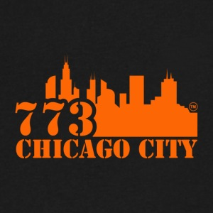 773 CHICAGO CITY - Men's V-Neck T-Shirt by Canvas