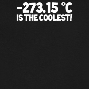 Temperature 273 15 is the Coolest - Men's V-Neck T-Shirt by Canvas