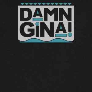 Cyber Damn Gina System - Men's V-Neck T-Shirt by Canvas