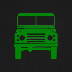Defender Land Rover - Men's V-Neck T-Shirt by Canvas