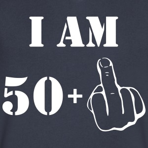 51st Birthday T Shirt 50 + 1 Made in 1966 - Men's V-Neck T-Shirt by Canvas