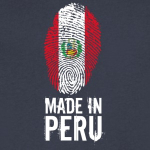 Made In Peru / Piruw / Perú - Men's V-Neck T-Shirt by Canvas