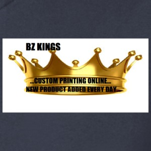 BZ KINGS LOGO - Men's V-Neck T-Shirt by Canvas