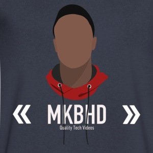 MKBHD - Men's V-Neck T-Shirt by Canvas
