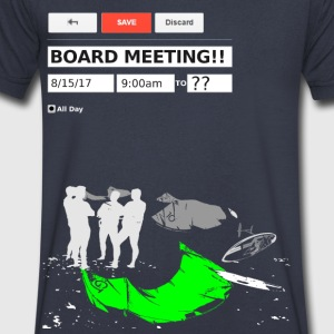 Board Meeting - Men's V-Neck T-Shirt by Canvas