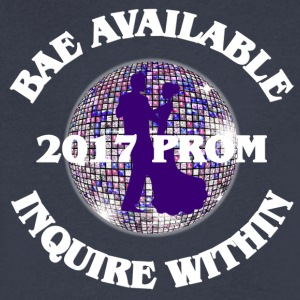 2017 Prom - Bae Available Inquire Within - Men's V-Neck T-Shirt by Canvas