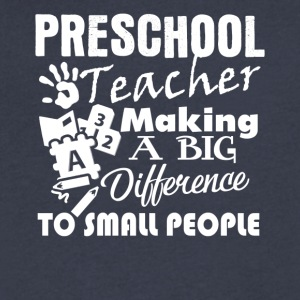 Preschool Teacher Clothes - Men's V-Neck T-Shirt by Canvas