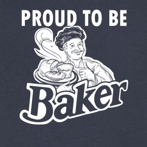 Baker Tees - Men's V-Neck T-Shirt by Canvas