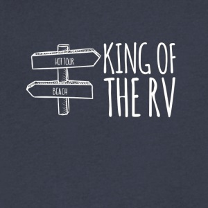 King of the RV - Men's V-Neck T-Shirt by Canvas