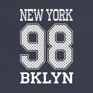 New York 98 BKLYN - Men's V-Neck T-Shirt by Canvas