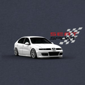 Seat leon MK1 Cupra - Men's V-Neck T-Shirt by Canvas