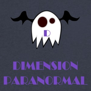 DIMENSION PARANORMAL - Men's V-Neck T-Shirt by Canvas