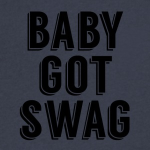 Baby Got Swag - Men's V-Neck T-Shirt by Canvas