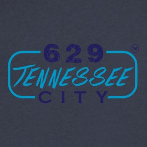 629TENNESSEE CITY10 - Men's V-Neck T-Shirt by Canvas