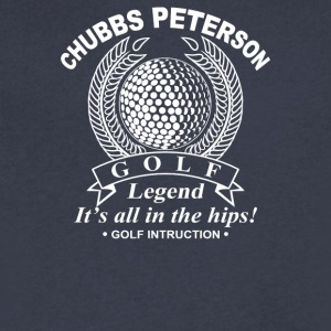 Chubbs Peterson Golf Legend - Men's V-Neck T-Shirt by Canvas