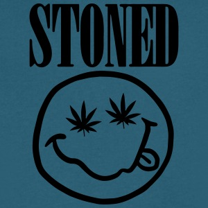 I'm Stoned - Men's V-Neck T-Shirt by Canvas