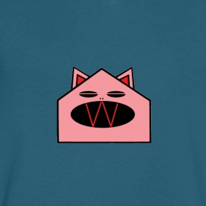Cat House - Men's V-Neck T-Shirt by Canvas