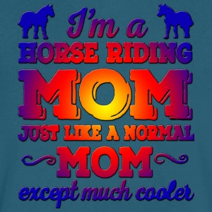Horse Riding Mom - Men's V-Neck T-Shirt by Canvas