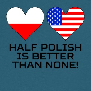 Half Polish Is Better Than None - Men's V-Neck T-Shirt by Canvas