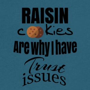 Raisin cookies - Men's V-Neck T-Shirt by Canvas