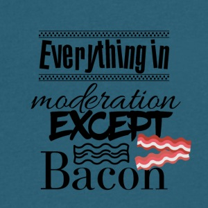 Everything in moderation - Men's V-Neck T-Shirt by Canvas