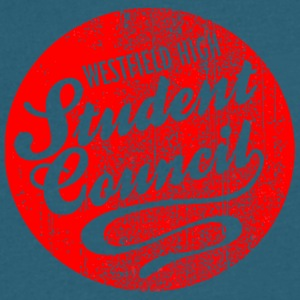 Westfield High Student Council - Men's V-Neck T-Shirt by Canvas