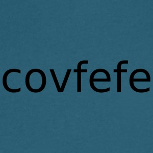 covfefe - Men's V-Neck T-Shirt by Canvas