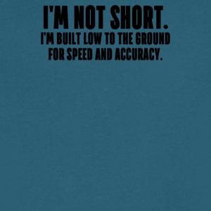 I M NOT SHORT - Men's V-Neck T-Shirt by Canvas