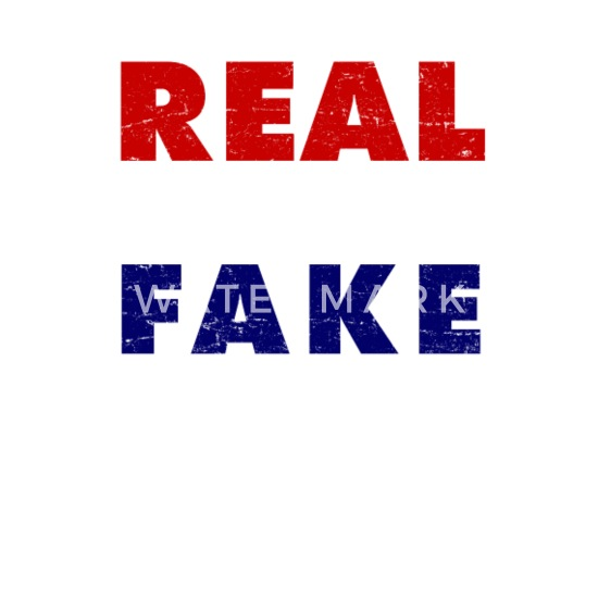 Next To Real Retro S Fake Retro S: Vintage Real News Fake President 8645 Men's V-Neck T-Shirt