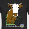Certified Naturally Grown Cows  - Unisex Tri-Blend T-Shirt