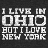 Live Ohio Love New York Clothing Apparel Tees - Unisex Tri-Blend T-Shirt