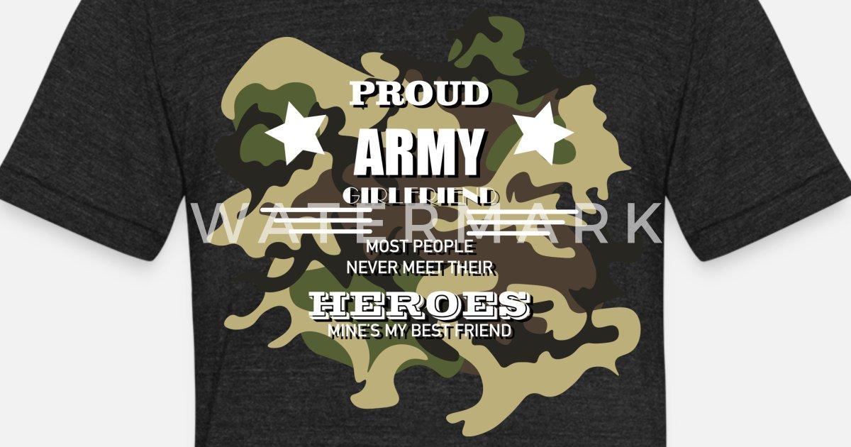 0a53e963 Soldiers girlfriend Unisex Tri-Blend T-Shirt | Spreadshirt