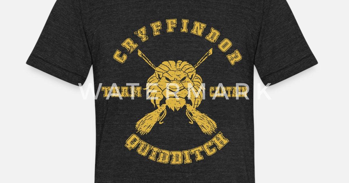 855449f7 Unisex Tri-Blend T-ShirtGryffindor Quidditch Team Captain Harry Potter pre