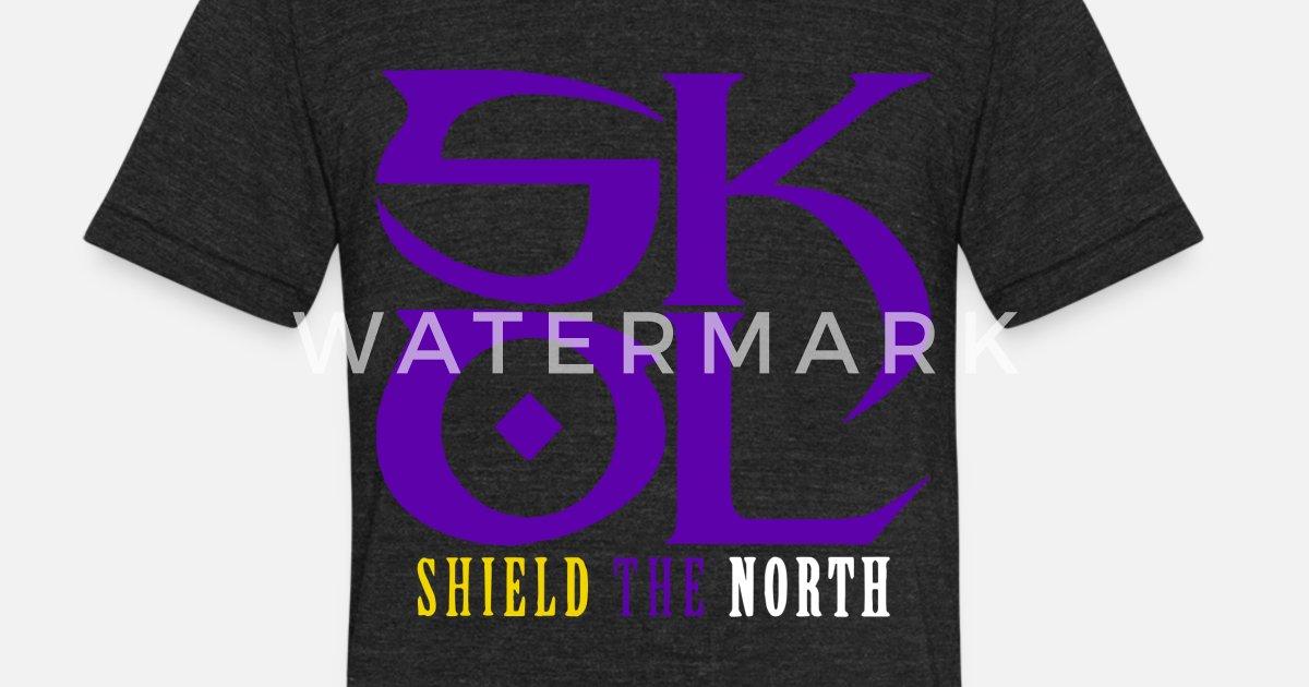 e1b76bc5 Unisex Tri-Blend T-ShirtSkol Vikings Shield The North Salute Chant Minneso