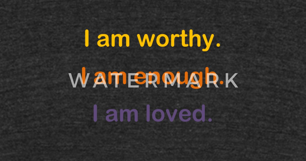 I am - Affirmations for Teens Unisex Tri-Blend T-Shirt | Spreadshirt