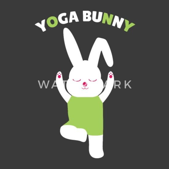 952fe92b Yoga Bunny Meditation Giftidea Unisex Tri-Blend T-Shirt | Spreadshirt