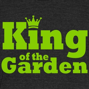 King of the Garden - Unisex Tri-Blend T-Shirt by American Apparel