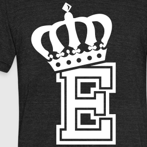 Name: Letter E Character E Case E Alphabetical E - Unisex Tri-Blend T-Shirt by American Apparel