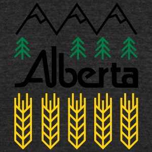 Alberta! - Unisex Tri-Blend T-Shirt by American Apparel
