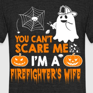 Firefighter wife - Unisex Tri-Blend T-Shirt by American Apparel