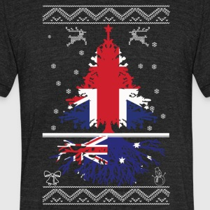 British with Australian root - Unisex Tri-Blend T-Shirt by American Apparel