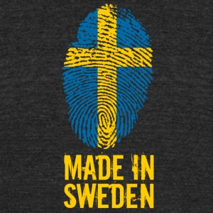 Made In Sweden / Sverige - Unisex Tri-Blend T-Shirt by American Apparel