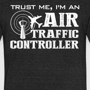 Air Traffic Controller Shirt - Unisex Tri-Blend T-Shirt by American Apparel